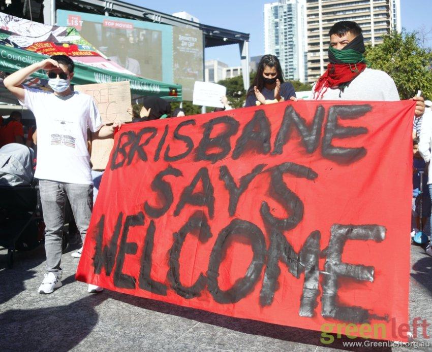 Brisbane says welcome