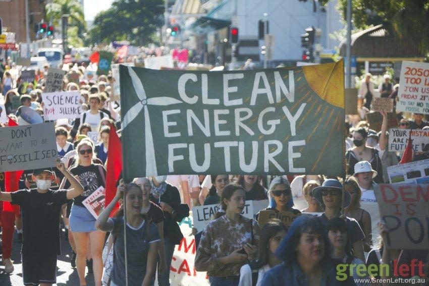 Clean Eneregy Future, Brisbane. Photo: Alex Bainbridge