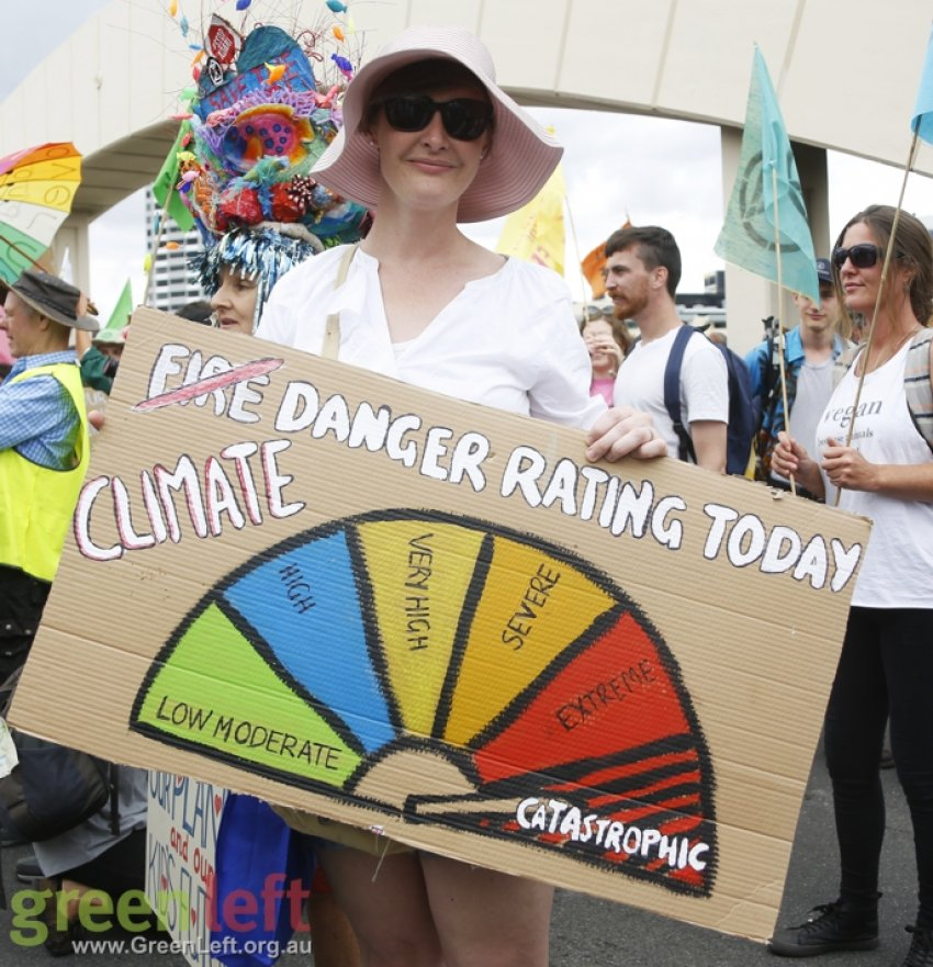 Climate Danger Rating: Catestrophic
