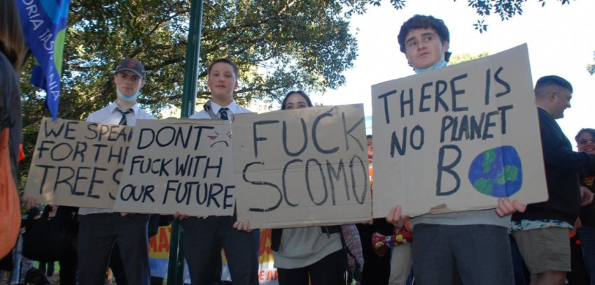 Don't fuck with our future, Melbourne. Photo: Chloe DS