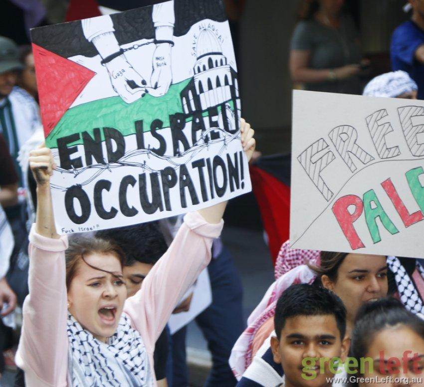 End Israeli occupation, Brisbane