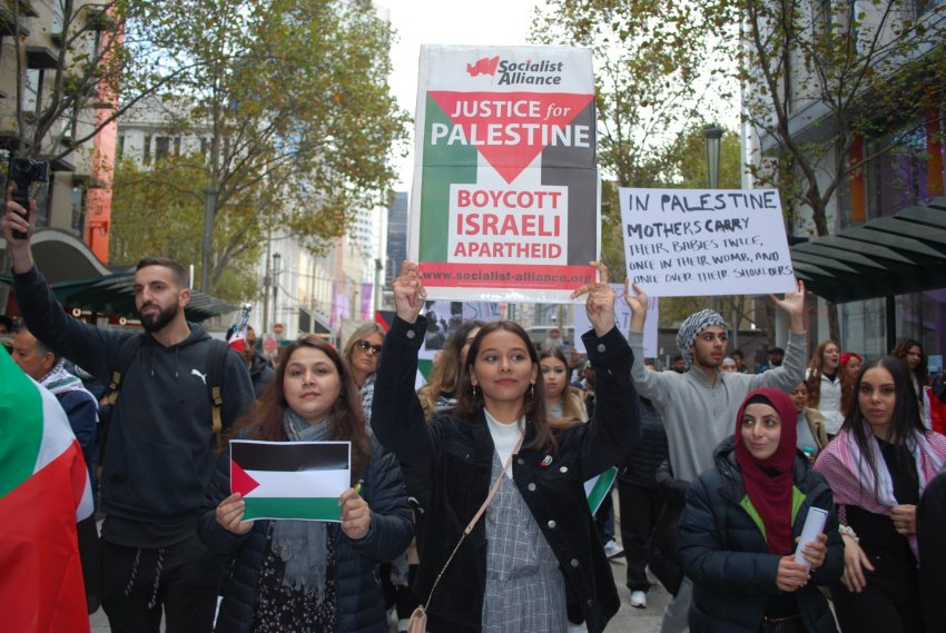Justice for Palestine. Photo: Chloe DS