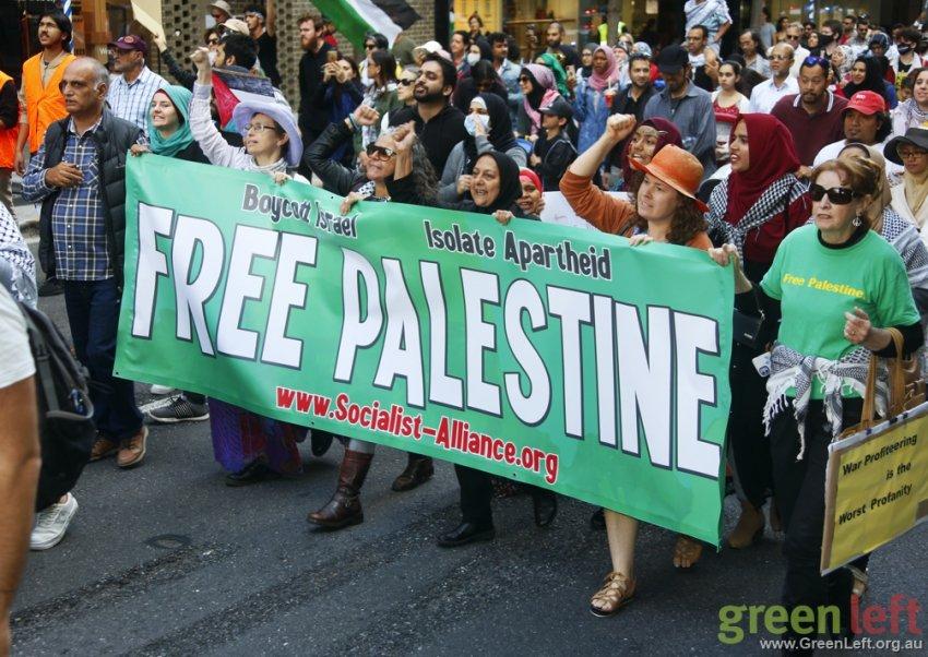 Free Palestine, Brisbane