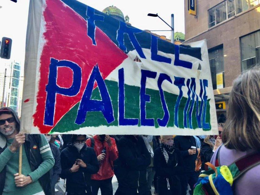 Free Palestine, Sydney