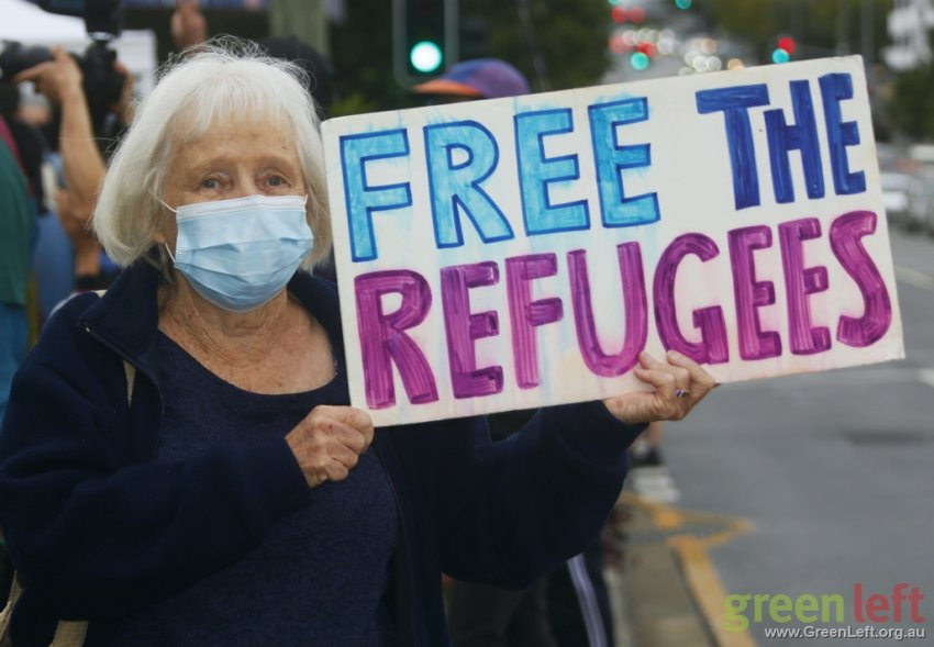 Free the refugees