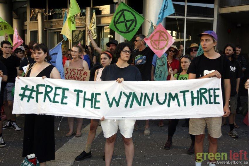 Free the Wynnum Three