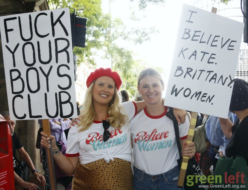 Fuck your boys club! Brisbane March4Justice