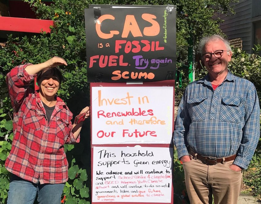 Gas is a fossil fuel! Photo: Fadi