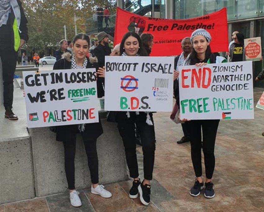 Get in losers, we're freeing Palestine