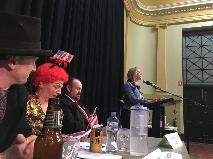 Melbourne Green Left Debate 2018