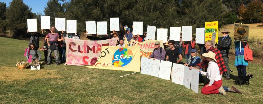 More from the Bathurst climate strike. Photo: Charles Boag
