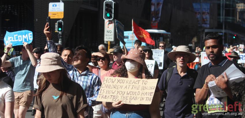Sydney rally. Photo: Peter Boyle