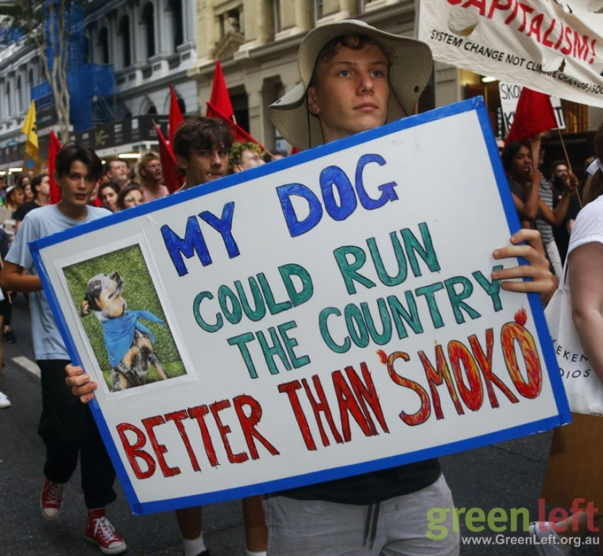 """My dog could run the country better than """"Smoko"""""""