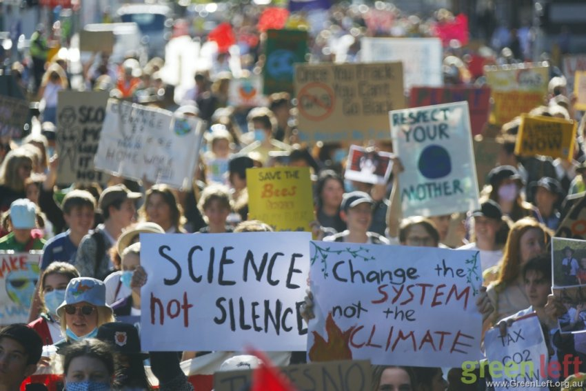 More science, less silence, Brisbane. Photo: Alex Bainbridge