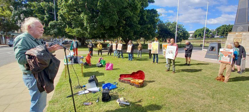 Newcastle rallies for Palestine