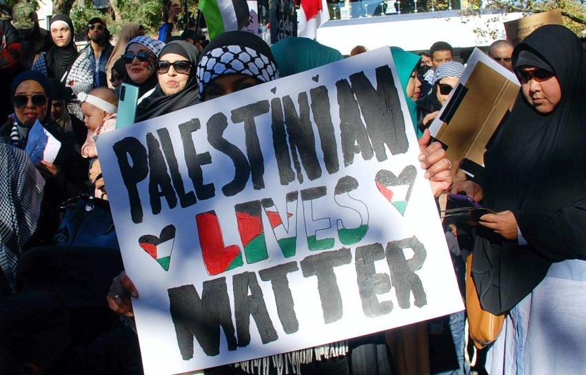 Palestinian lives matter, Melbourne
