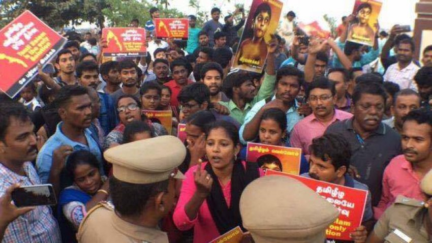 Tamil Nadu human rights activists arrested in India