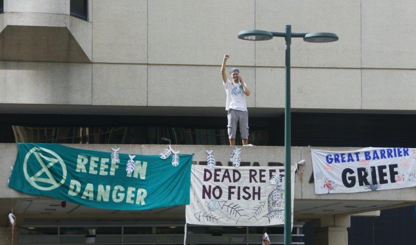 Reef in danger!