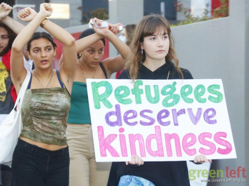 Refugees deserve kindness