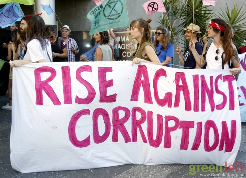 Rise against corruption