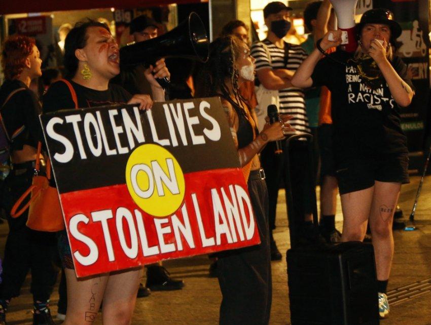 Stolen lives on stolen land