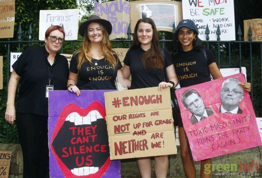 Enough is enough. Brisbane March4Justice