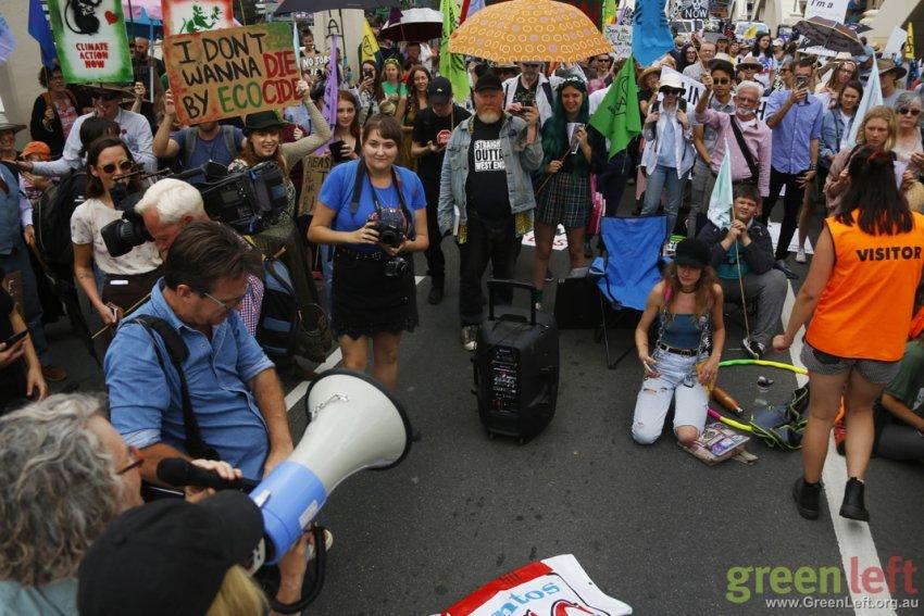 William Jolly Bridge protest