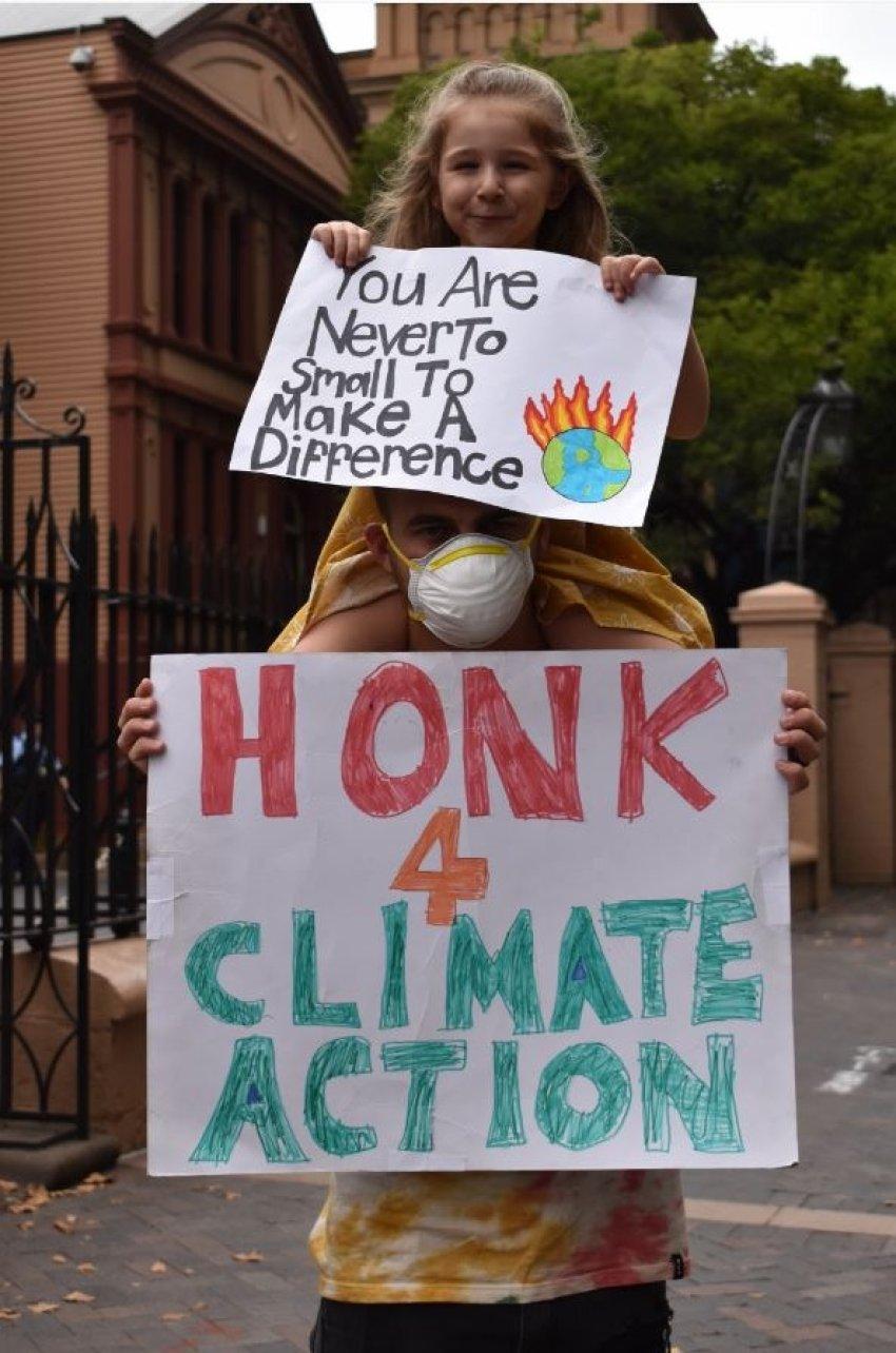 Extinction Rebellion climate vigil NSW Parliament