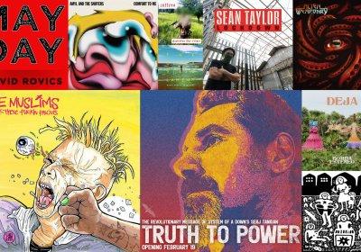 Protest music from September 2021 album artwork