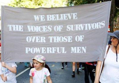 International Women's Day march in Brisbane in 2019.