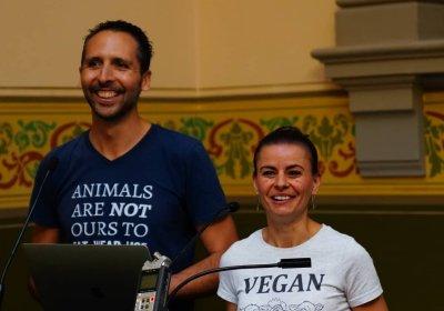 Speakers at the Animal Activist Forum 2019.