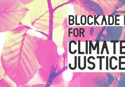 Blockade RTS for Climate Justice