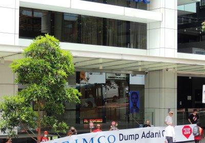 Allianz Adani protest