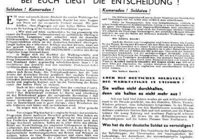 An edition of Arbeiter und Soldat