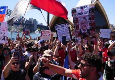 Chile solidarity Sydney October 25.