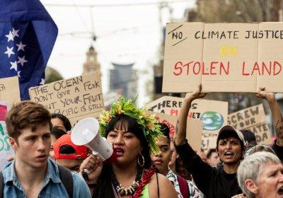 Climate Strike protest in Melbourne on September 20.
