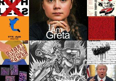 Political albums artwork November 2020
