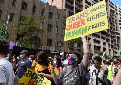 Pride in Protest in Sydney. Photo: Chloe de Silva
