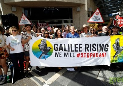 Galilee Rising protest, Brisbane, November 13. Photo: Alex Bainbridge