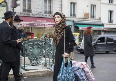 Isabelle Huppert peddling giant bags of hash in The Godmother