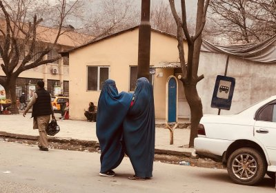 Women in Kabul, Afghanistan in 2019 by Laura Quagliuolo