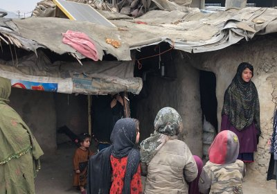 Women and children in Kabul, Afghanistan in 2019 by Laura Quagliuolo