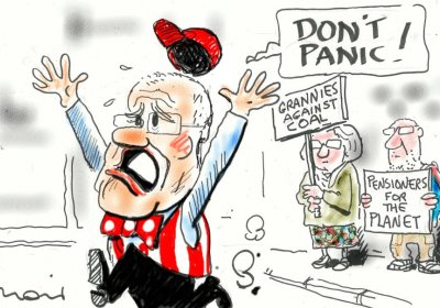 Moir cartoon