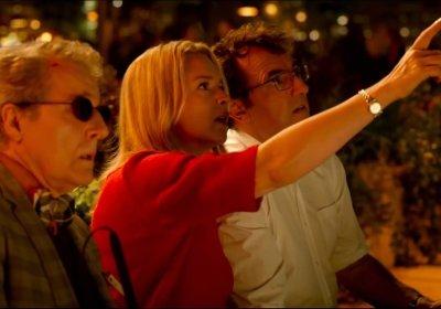 Nicolas Marie, Virginie Efira and Albert Dupontel in Bye Bye Morons