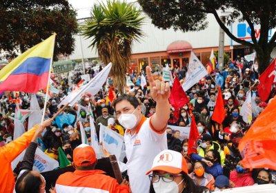 UNES presidential candidate Andrés Arauz Ecuador elections