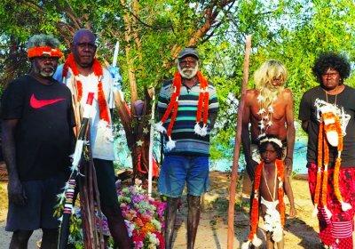 Galpu and Golpa clan elders from Elcho Island