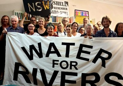 Water for Rivers Newcastle launch on November 17.