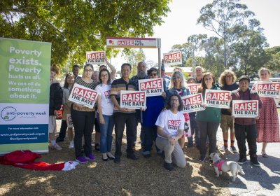 Raise the Rate Drive at Addison Road Community Centre