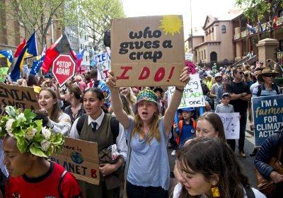 Sydney Climate Strike on September 20.