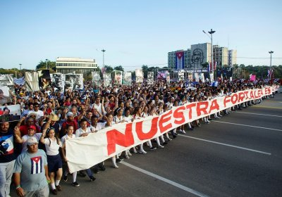 May Day in Cuba